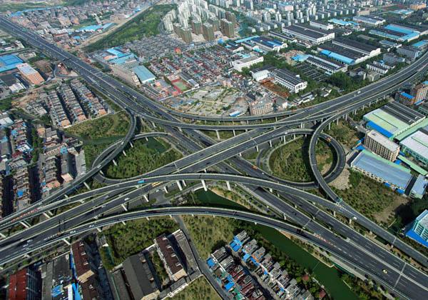 杭州石桥互通式立交工程图片